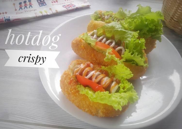 Hotdog crispy