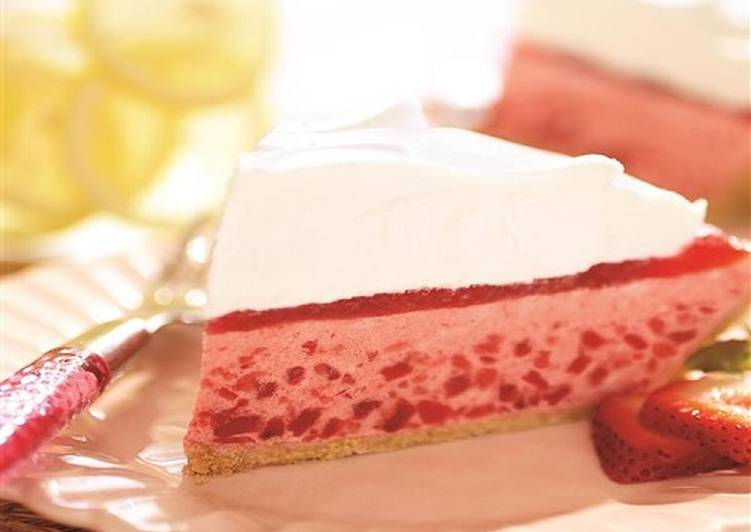Recipe of Quick No-Bake Strawberry Pie