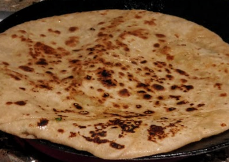 Going Green for Better Health By Consuming Superfoods Pumpkin Paratha 🎃