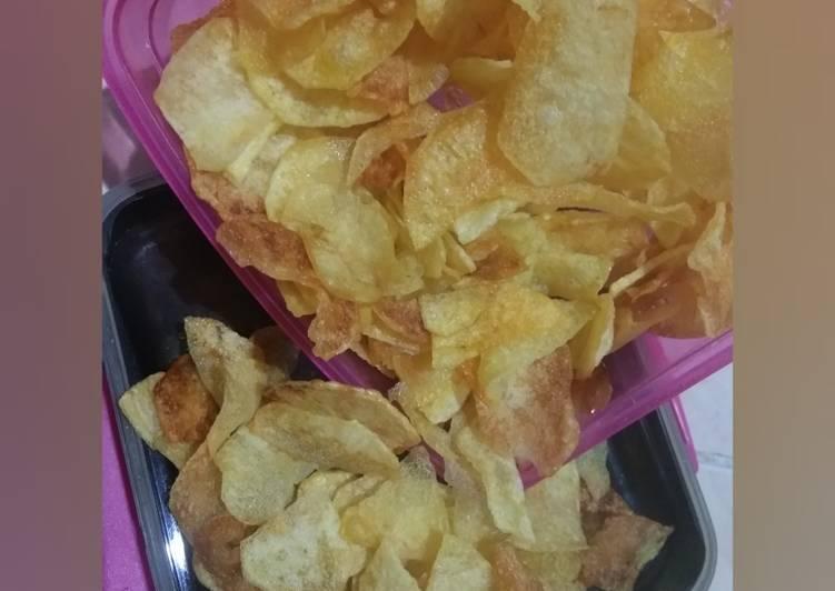 Keripik kentang simpel