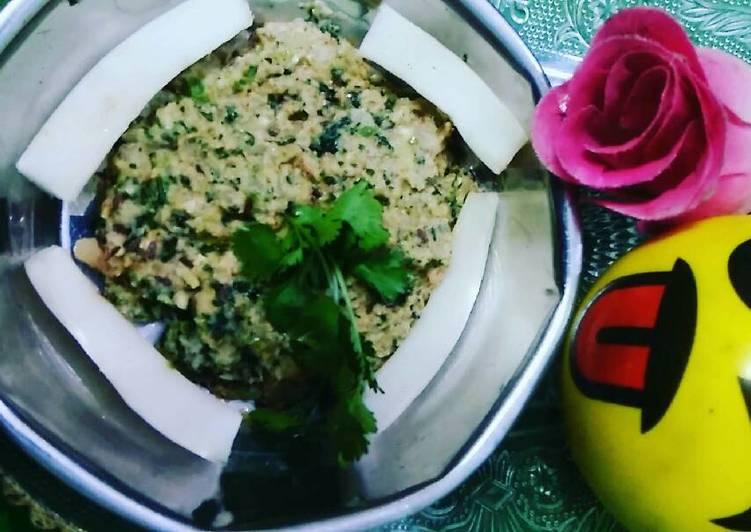 Recipe of Any-night-of-the-week Radish chutney