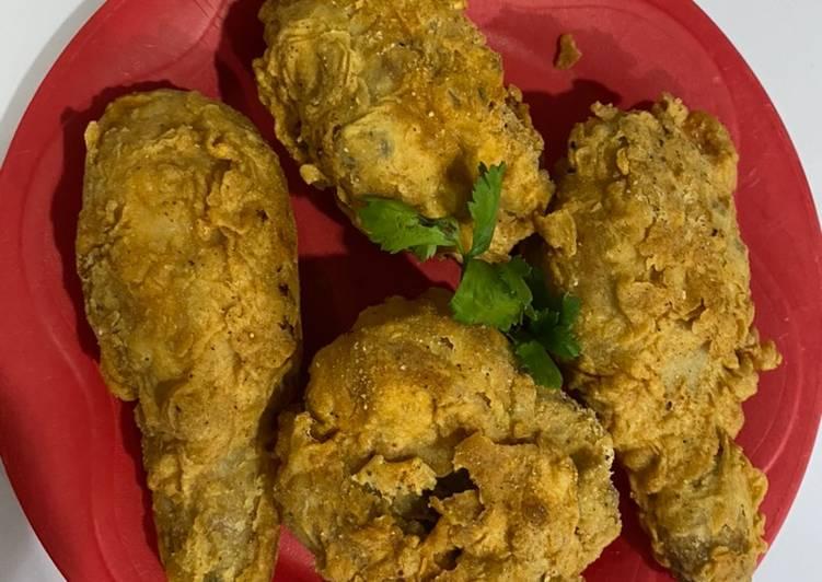 Ayam goreng kentucky rumahan (Kekentakian)