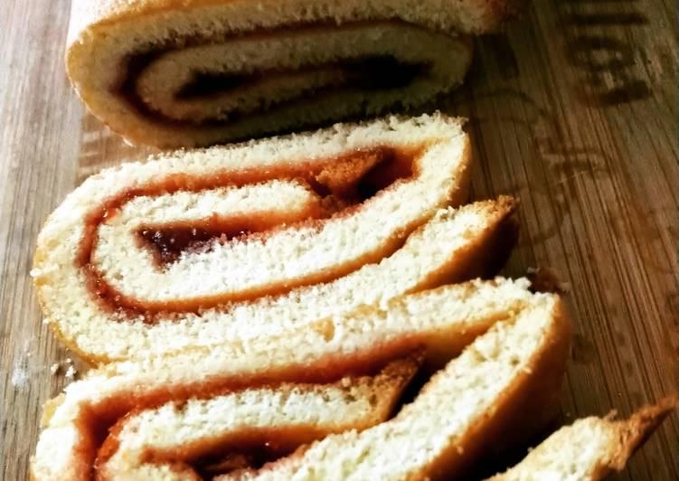 La Recette Pas à Pas Gâteau Roulé à la confiture