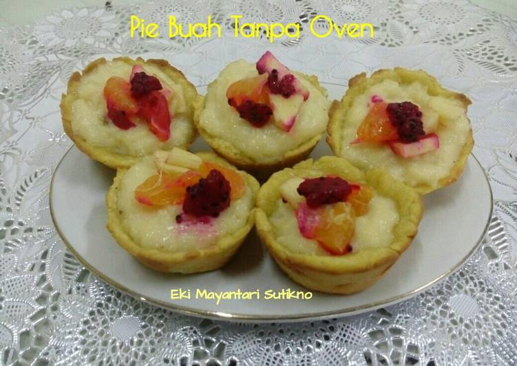 Pie Buah Tanpa Oven #Berani Baking Berani Sharing