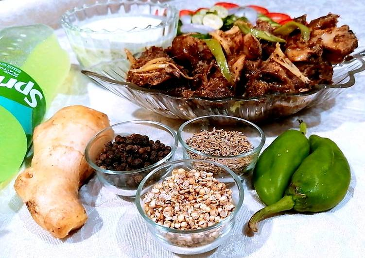 Recipe of Homemade Mutton Brown