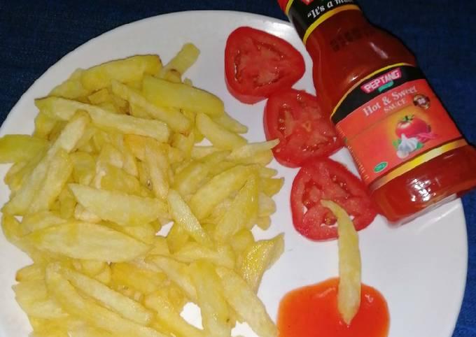 Crispy French fries