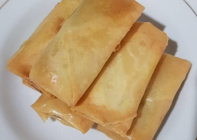 Lumpia Kari Ayam Udang Sayur - cookandrecipe.com