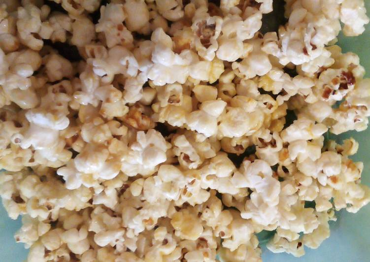 Easiest Way to Prepare Ultimate Sugar and butter popcorn!