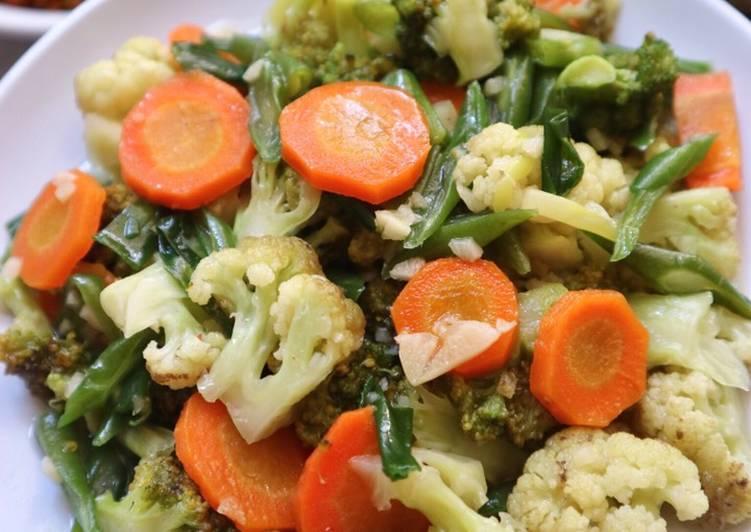 CAH SAYUR RANDOM  (Brokoli, kembang kol, wortel, buncis)