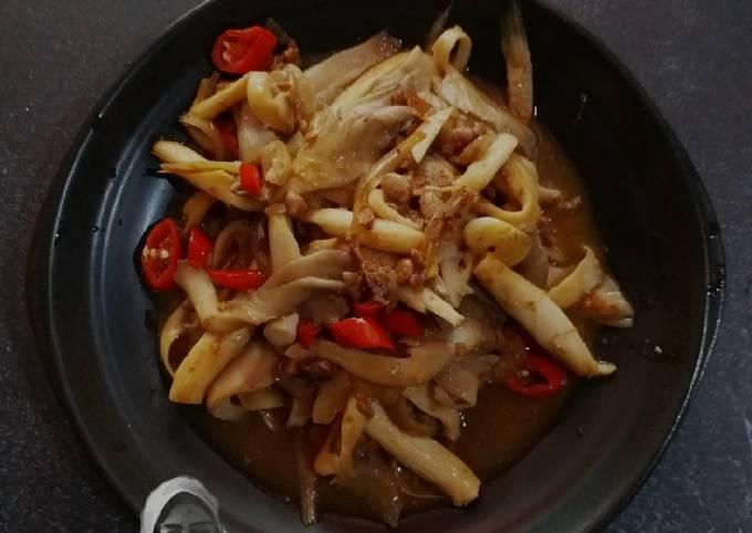 🍄Cendawan masak taucu👩🍳
