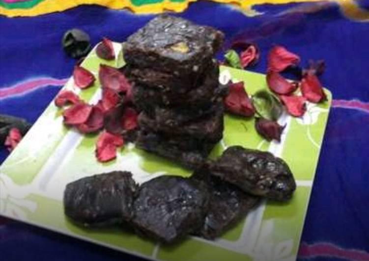 Chocolate Maida Burfi