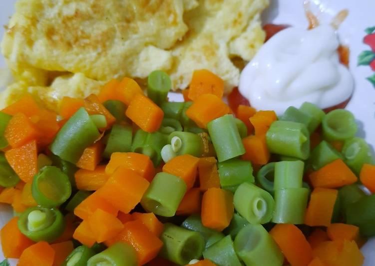 Sayur sehat & telur