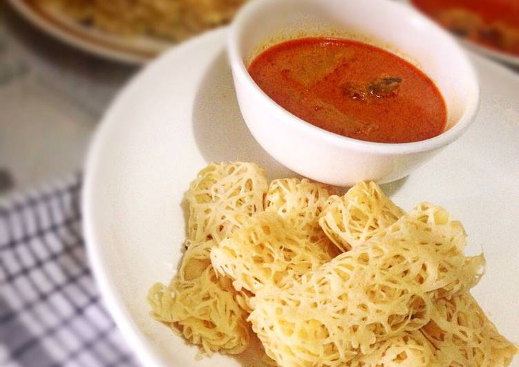 Resep Roti Jala & Kari Ayam oleh Kookee Cake & Cookies - Cookpad