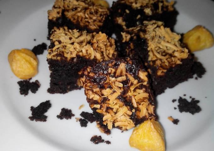 Brownies Panggang Keju