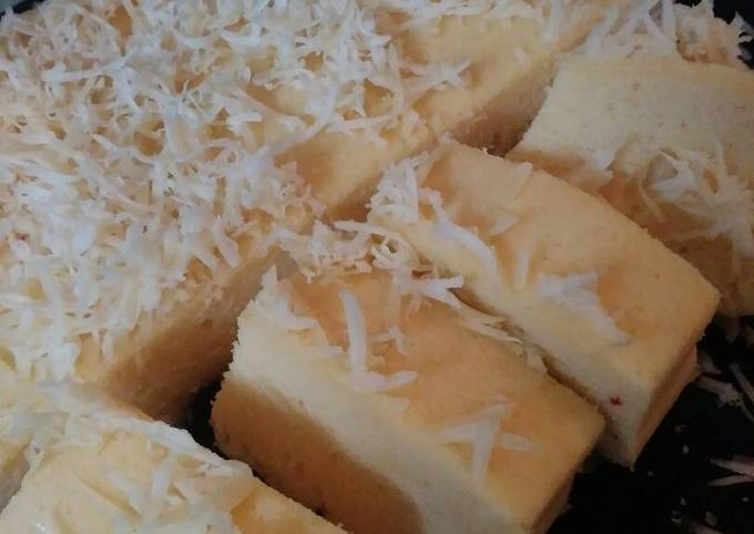 Resep Bolu kukus nutrijel mangga keju super lembut😋, Bikin…