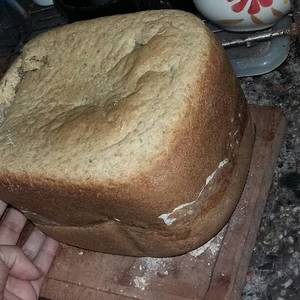 PAN INTEGRAL CON SEMILLAS (en maquina de pan)