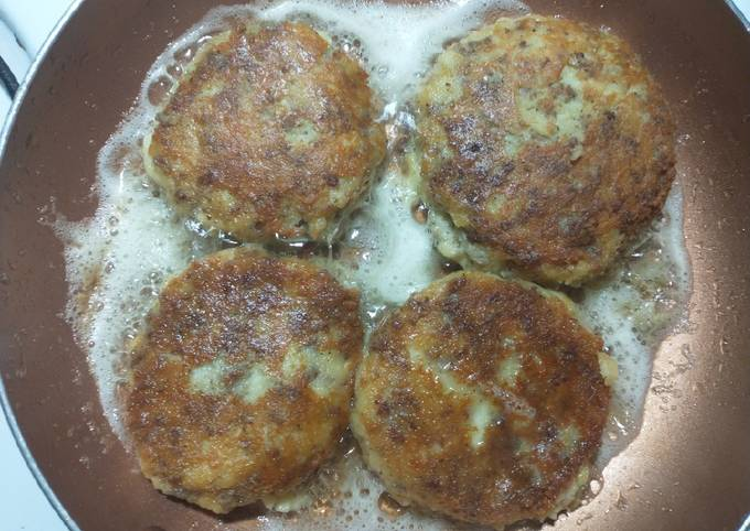 Loaded Breakfast patties