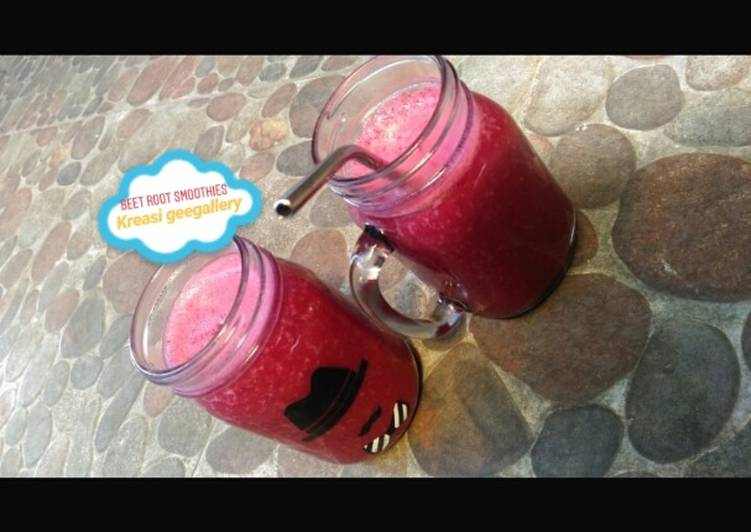 155. Beet root smoothies