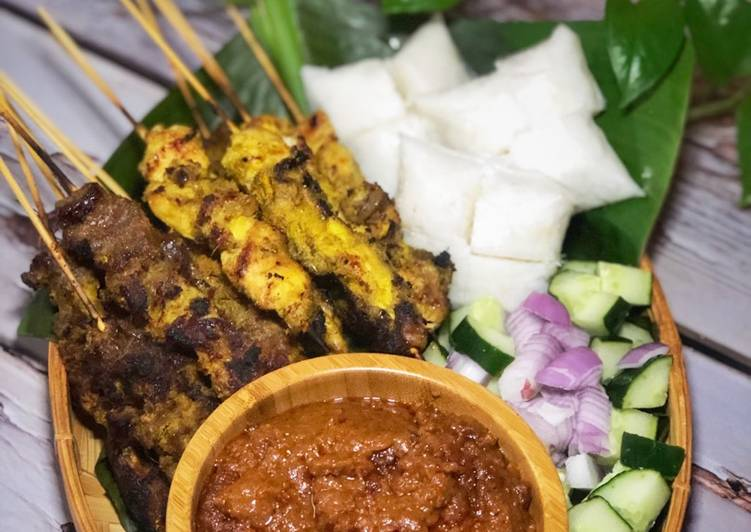 Satay Ayam & Daging