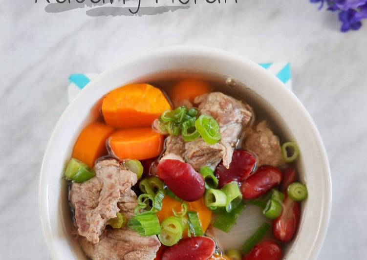 sop-daging-kacang-merah-favorite-keluarga