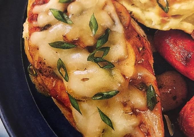 Simple Way to Prepare Speedy Smothered Mushroom Chicken