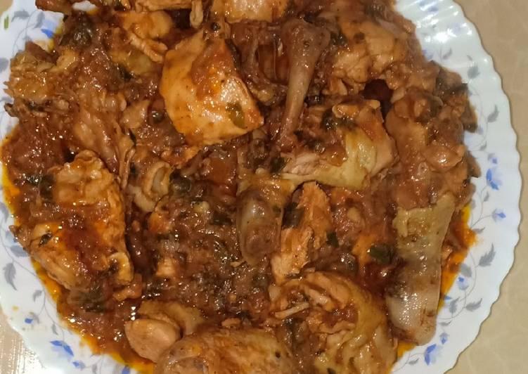 Step-by-Step Guide to Prepare Ultimate Kuku wa mchuzi #mystaplefoodrecipecontest