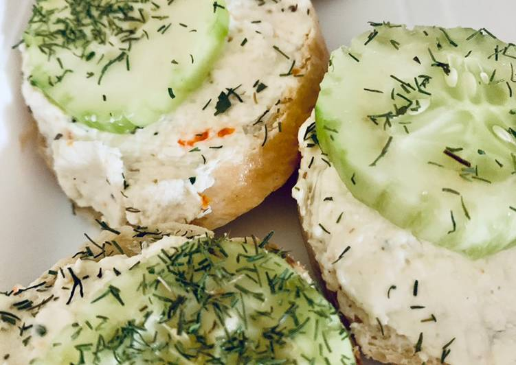 Simple Way to Make Favorite Cucumber Sandwiches