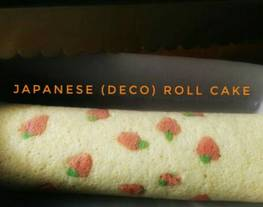 Japanese (deco) roll cake