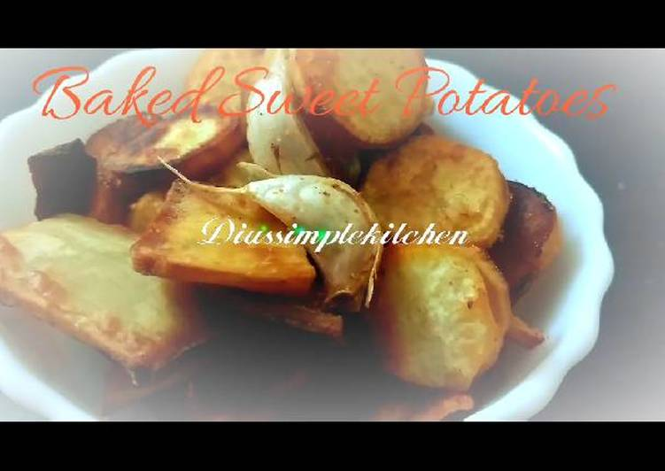 Baked Sweet Potato Crisps