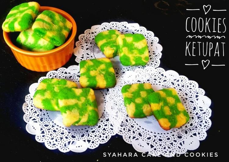 Cookies Ketupat Eggless #SeninSemangat