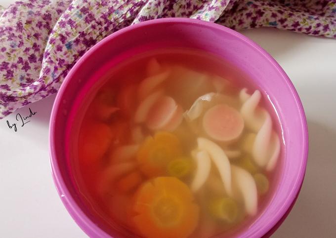 Sup (sosis)Ayam Macaroni