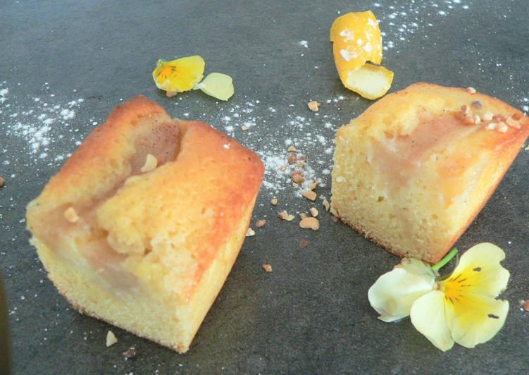 Petits cakes aux poires