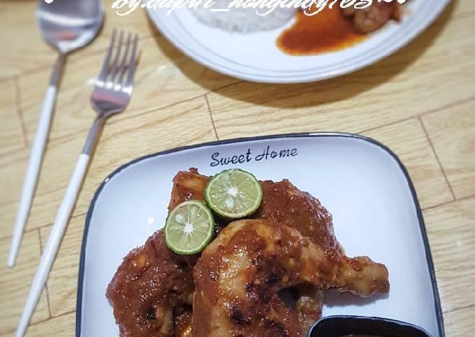 Ayam Bakar Bumbu Rujak (Resep Pemenang MCI season 7)