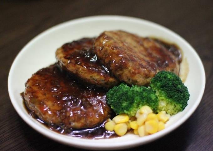 Steak Ayam 365 Kalori. Menu diet