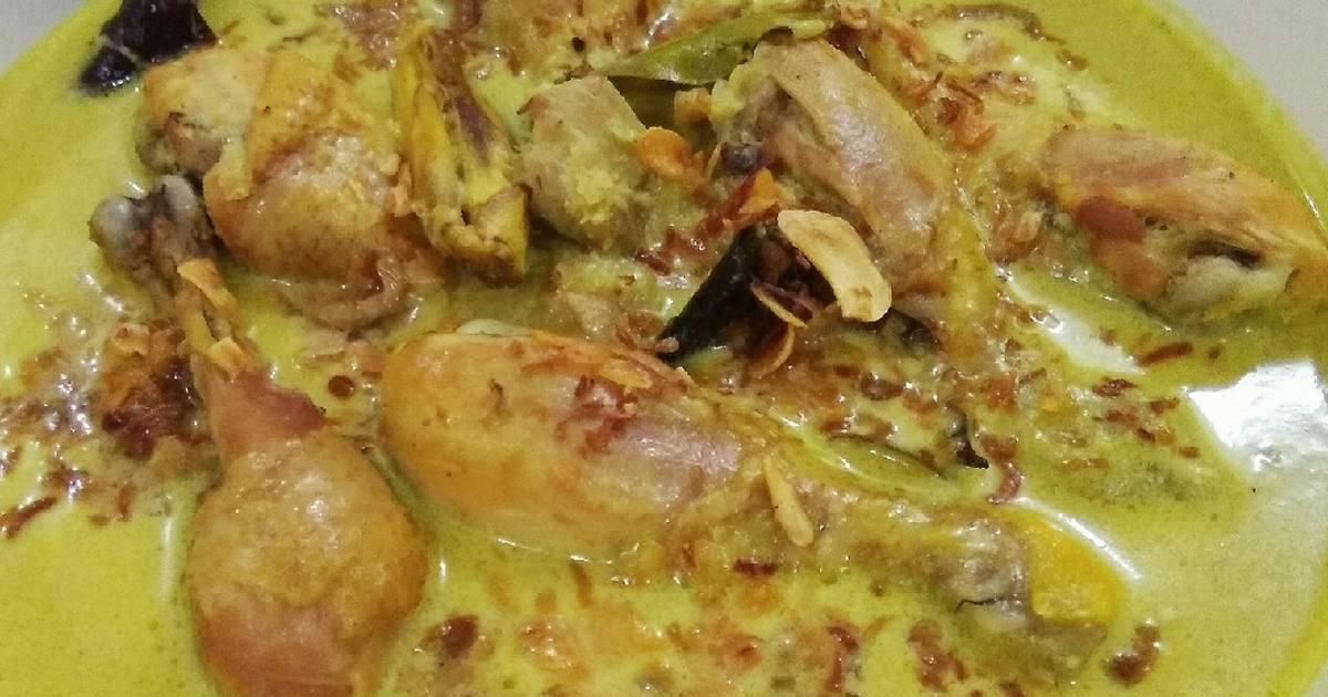 Resep Opor Ayam Bumbu Kuning Oleh Ingrid Soebagio Cookpad