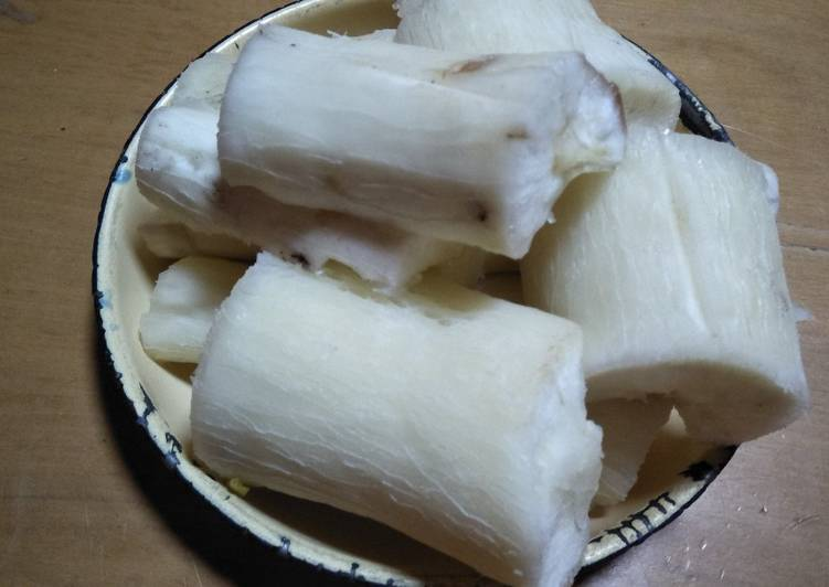 Recipe of Any-night-of-the-week Boiled cassava