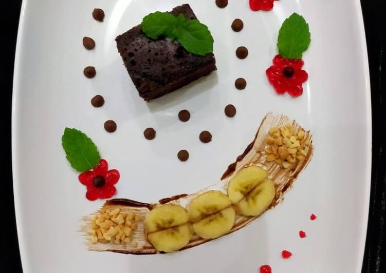 Brownies Choco Banana🍌
