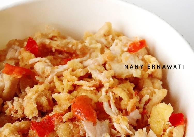 Ayam geprek crispy sambal bawang