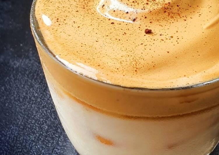 Dalgona Coffee Durian
