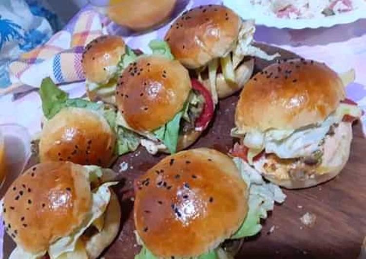 La Meilleur Recette De Les hamburgers