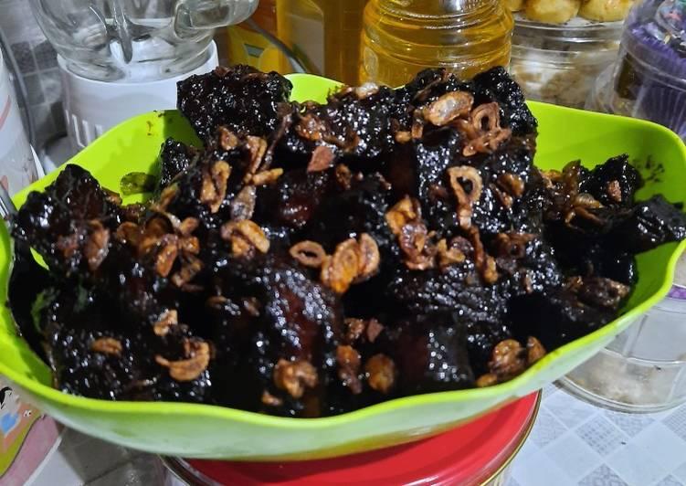 Semur daging hitam betawi ala2 miella