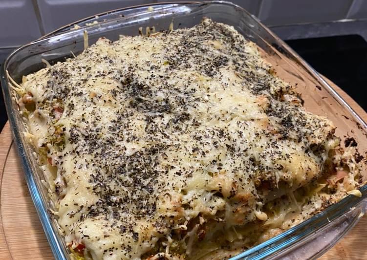 Lasagne au thon et brocoli ?