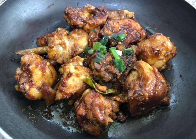 Cara buat 10. Rica-Rica Ayam Kecap Pedas yang lezat dan Mudah Dibuat