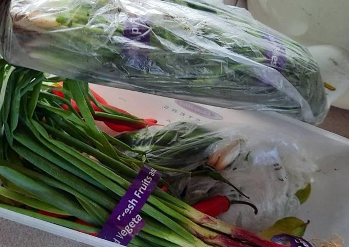 Tips simpan sayur agar tidak mudah rosak cara mommyku