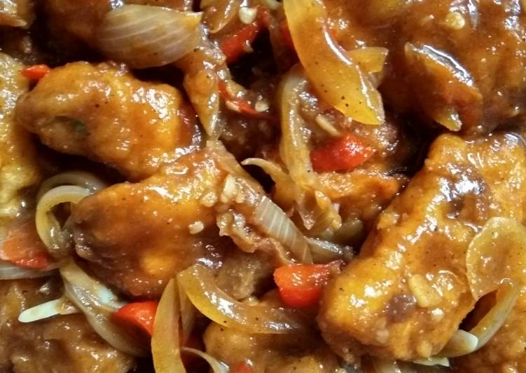 Resep Ayam Goreng Saus Tiram oleh Muna El Jalal - Cookpad