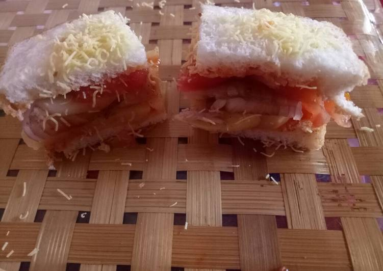 Quick and Easy Way to Cook Perfect Veg sandwich