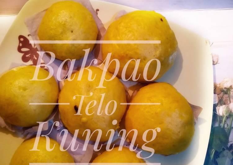 Bakpao Telo (Ubi) Kuning