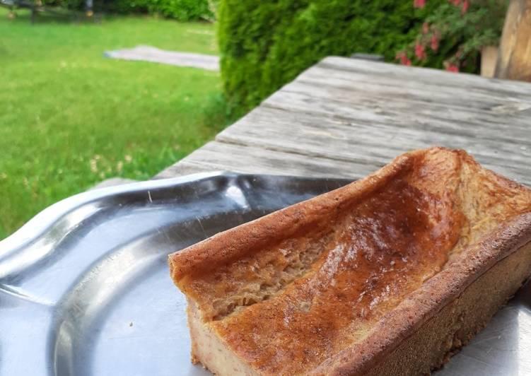 Comment faire Faire Parfait Le Banana cake healthy sans œuf