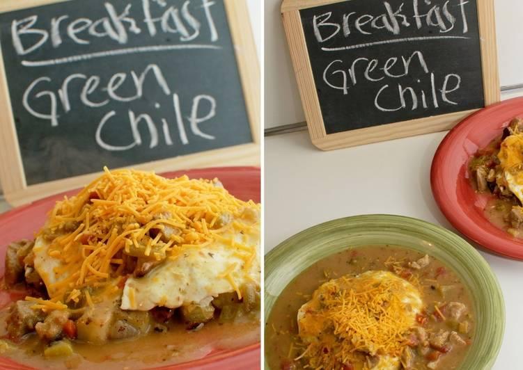 Recipe of Award-winning New Mexican Green Chili