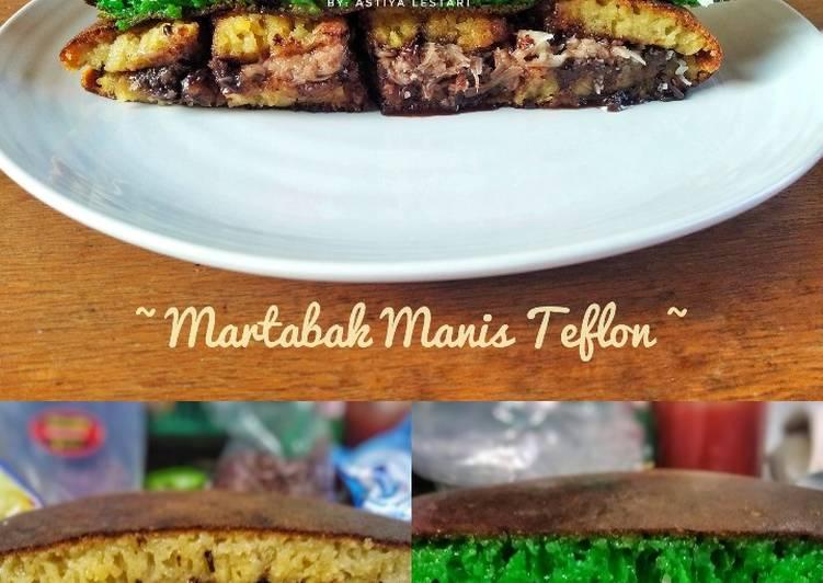 Martabak Manis Teflon - cookandrecipe.com